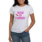 Mom of Twin Girls Women's T-Shirt