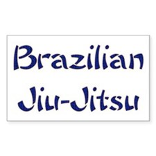 Brazilian Jiu-Jitsu Rectangle Decal