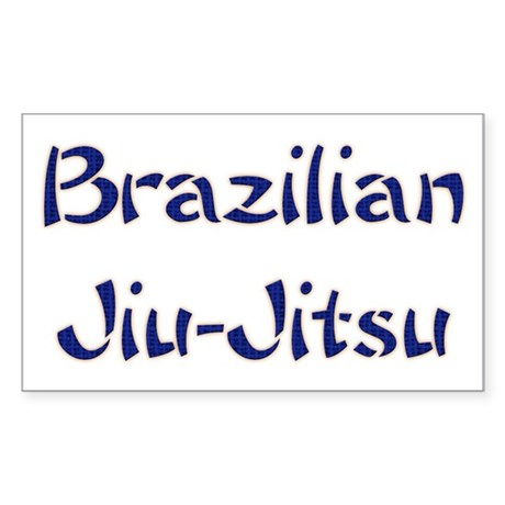 Brazilian Jiu-Jitsu Rectangle Sticker