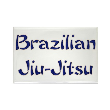 Brazilian Jiu-Jitsu Rectangle Magnet (100 pack)