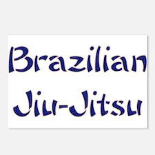 Brazilian Jiu-Jitsu Postcards (Package of 8)
