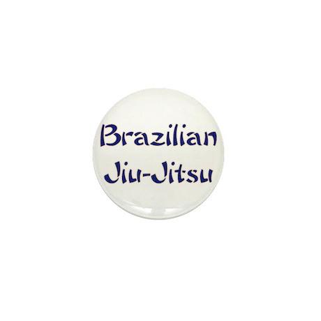 Brazilian Jiu-Jitsu Mini Button (10 pack)