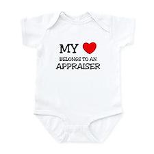 My Heart Belongs To An APPRAISER Infant Bodysuit