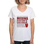 New Medina Women's V-Neck T-Shirt