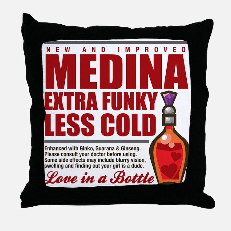 New Medina Throw Pillow