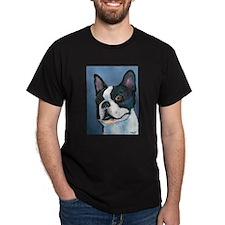 """""""Another BT"""" a Boston Terrier Black T-Shirt"""