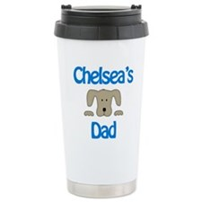 Chelsea's Dad Ceramic Travel Mug