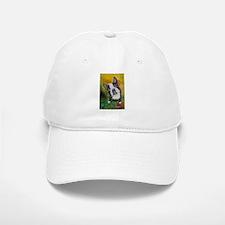 """Boston Beg"" a Boston Terrier Baseball Baseball Cap"