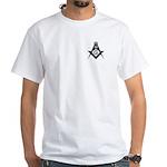 Masonic 32nd Degree White T-Shirt