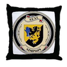 Seal - Simpson Throw Pillow