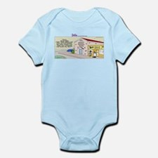 Cute Eat beef Infant Bodysuit