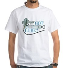 Got Lube? Basic T-Shirt.