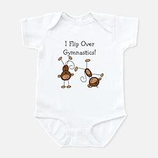 Flip Over Gymnastics Infant Bodysuit