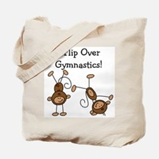 Flip Over Gymnastics Tote Bag