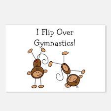 Flip Over Gymnastics Postcards (Package of 8)