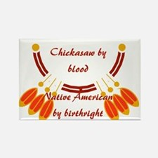 """""""Chickasaw"""" Rectangle Magnet"""