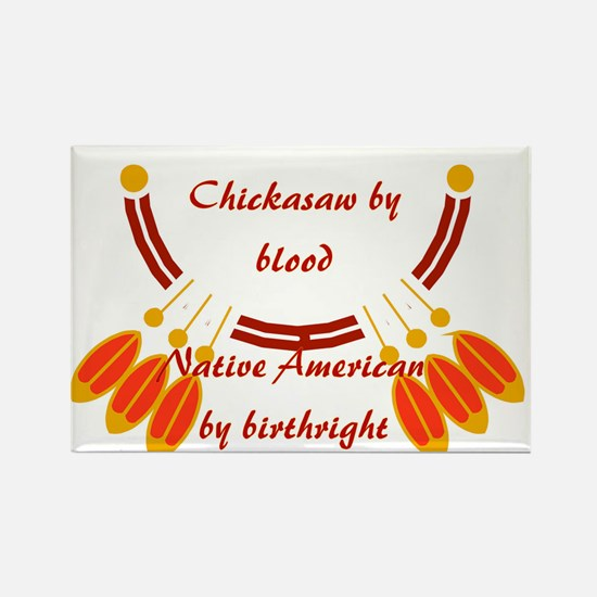 """Chickasaw"" Rectangle Magnet"