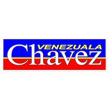 """Chavez, Venezuala"" Bumper Bumper Sticker"