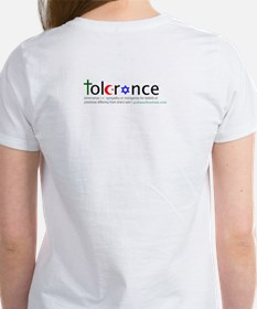 Tee w/ chest and back logo
