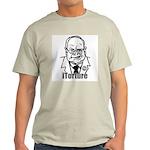 Cheney: iTorture Ash Grey T-Shirt