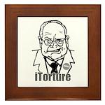 Cheney: iTorture Framed Tile