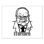 Cheney: iTorture Small Poster