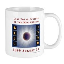 1999 Total Solar Eclipse Small Mug