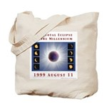1999 Total Solar Eclipse Tote Bag