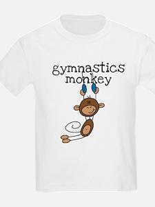 Gymnastics Monkey T-Shirt