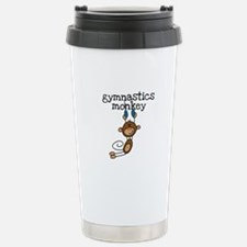 Gymnastics Monkey Travel Mug