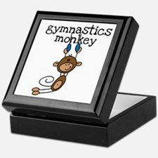 Gymnastics Monkey Keepsake Box