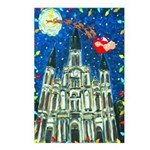 Christmas New Orleans Cathedral Postcards