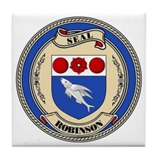 Seal - Robinson Tile Coaster