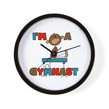 I'm a Gymnast Wall Clock