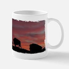 Bison Family Mug