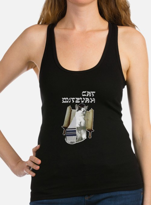 catmitzvah for dark Tank Top