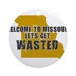 MISSOURI SHIRT ST. LOUIS SHIR Ornament (Round)