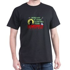 Haunted Rumsfeld Black T-Shirt