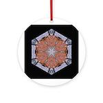 Stone Wall III Ornament (Round)
