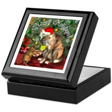 """Christmas Friends"" Keepsake Box"