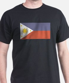 Philippines Black T-Shirt