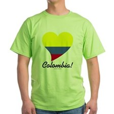 Heart Colombia (World) T-Shirt