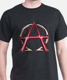Alpha & Omega Anarchy Symbol T-Shirt