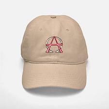 Alpha & Omega Anarchy Symbol Baseball Baseball Cap