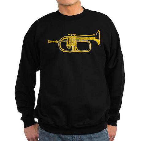 """""""Brass"""" Trumpet Sweatshirt (dark)"""