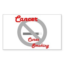 Cancer Rectangle Decal
