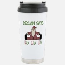Declan Says Ho Ho Ho Travel Mug