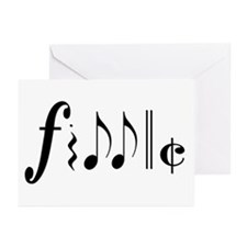 Great NEW fiddle design! Greeting Cards (Pk of 10)