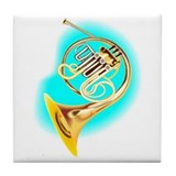 French horn coaster Drink Coasters