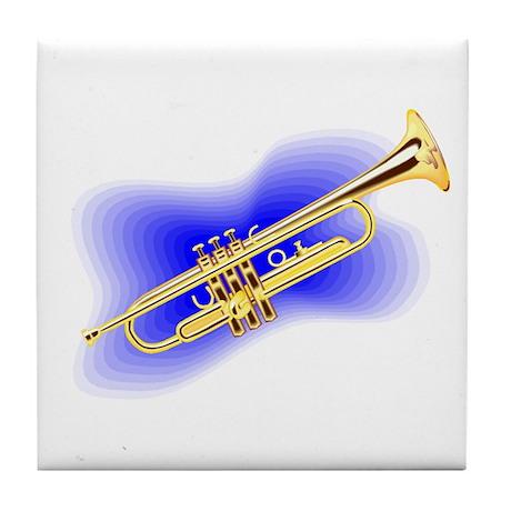 """Trumpet"" Tile Coaster"